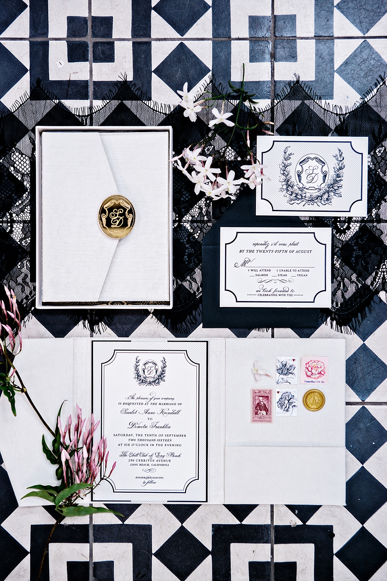 Jasmin Michelle Designs | Southern California Wedding Invitations